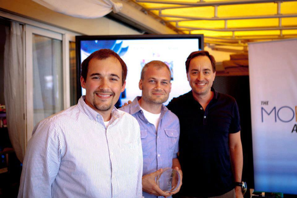 SMG Co-Founders Austin Albany and Jon Doss attended the 2012 Cannes Lions Marketing Festival to accept their MOFILM Award.