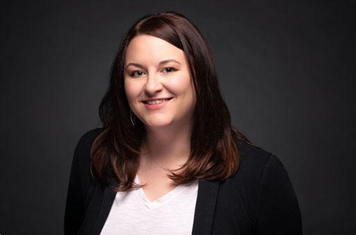Sublime Media Group Social Media Manager, Kayla Bitner, smiling