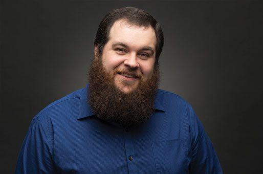 Sublime Media Group Senior Web Developer, Ross Brown, smiling