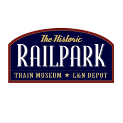 The Historic Railpark Train Museum Logo