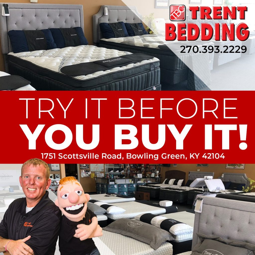 Square Ad created for Trent Bedding company Facebook Ads campaign