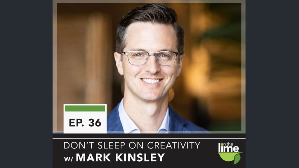 Mark Kinsley CEO Englander Mattress Headshot for On the Lime Podcast interview