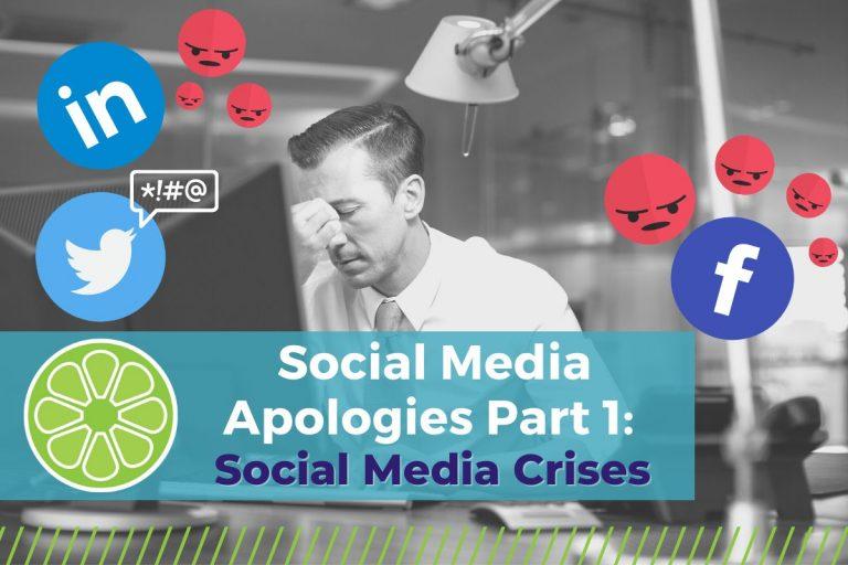 "Man at desk looking stressed, ""Social Media Apologies Part 1: Social Media Crises"""